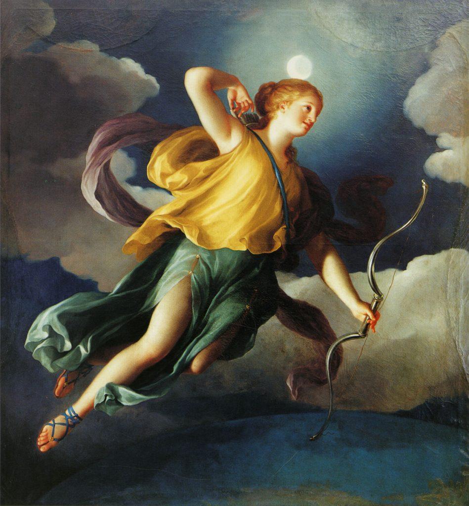 Diosa Artemis (Diana para romanos)