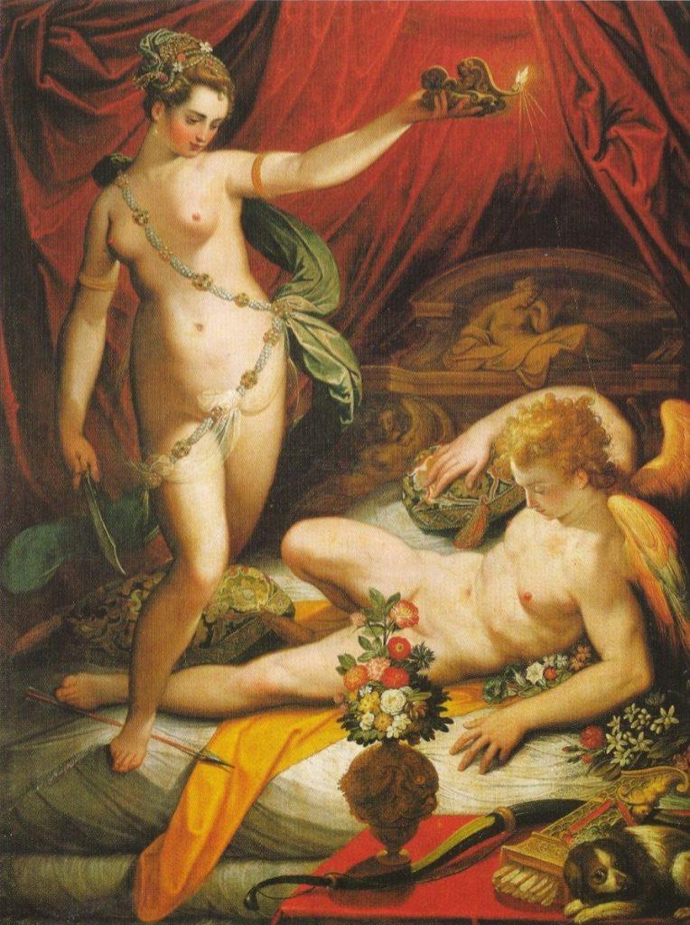 Amor (Cupido) y Psique