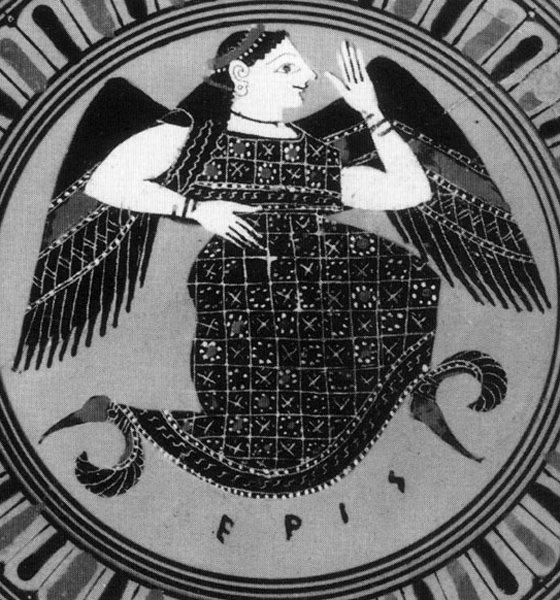 Eris, diosa griega de la discorida.