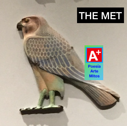 Horus, el halcón, Metropolitan museum of art of NY