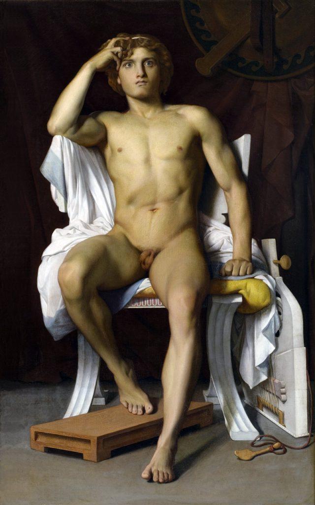 Pintura: La furia de Aquiles