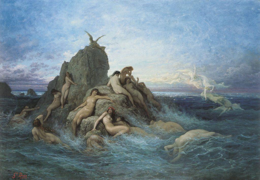 NEREIDAS Y OCEANÍAS - HEFESTO DIOS