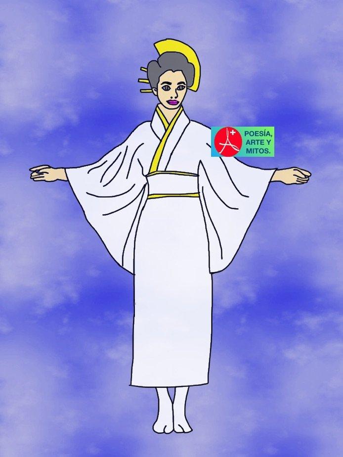 IZANAMI, DIOSA MITO JAPONES