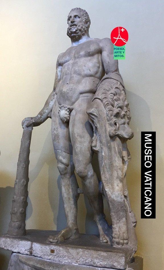 HERACLES-HERCULES MUSEO VATICANO. MITO Y HEROE GRIEGO