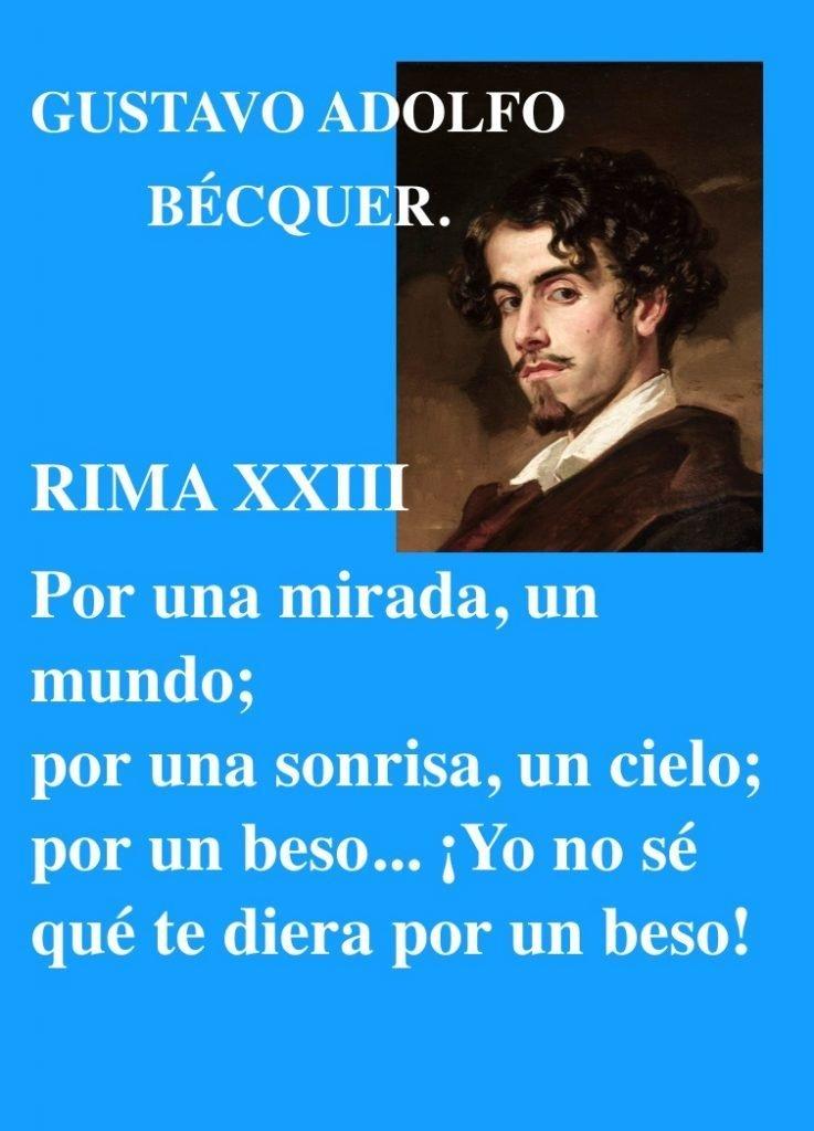 GUSTAVO A BECQUER-POETA ESPANOL-POEMAS AMOR-ROMANTICOS