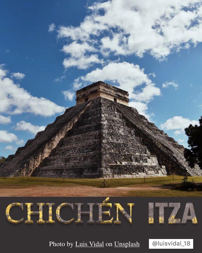 CHICEHN ITZA-PIRAMIDE EL CASTILLO-KUKULCAN-MAYA