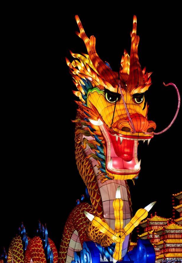 el mito del dragon chino.