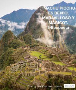 MACHU PICCHU - PERU - Mitos incas.