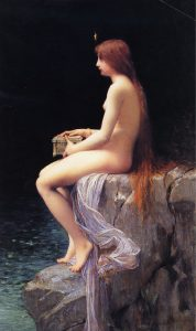 Caja de Pandora-mito griego