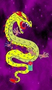 El dragon - mito chino - El Emperador amarillo