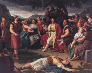 muerte de Balder - diosa frigg - mito nordico