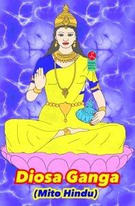 Diosa Ganga - Shiva - Mito hindu - India