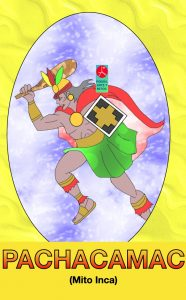Pachacamac - dios - Mito inca
