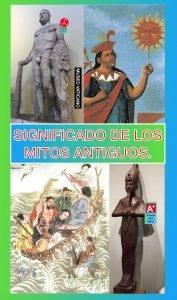 Significado de los mitos antiguos