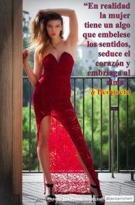 La mujer - frases de amor - Arte y belleza femenina