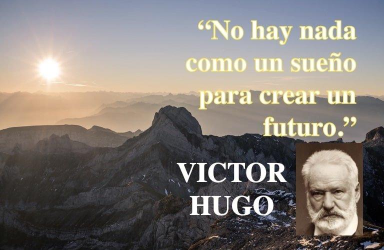 Futuro - frases motivacion superacion - Poeta Victor Hugo