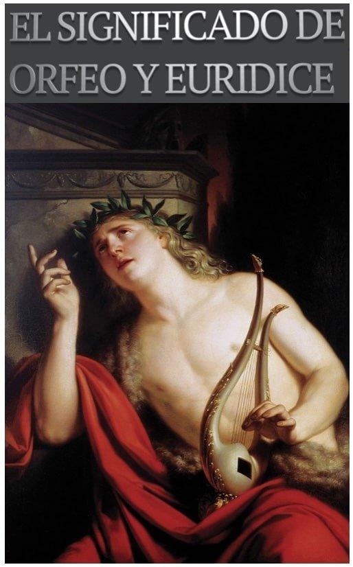 Pintura Orfeo y su lira - Mito de Orfeo y Eurídice