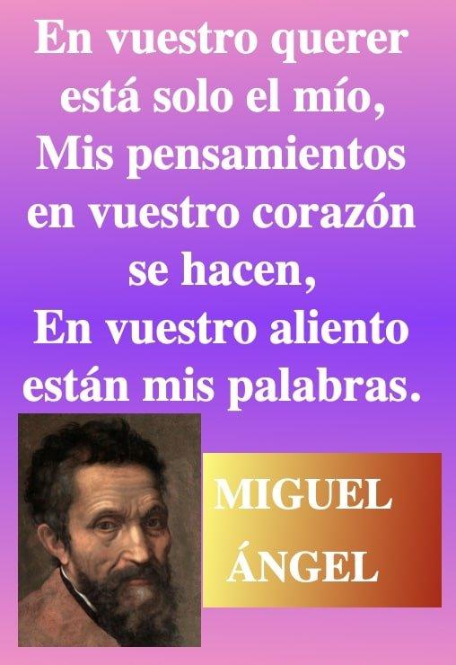 En vuestro querer- citas de amor - frases de Migel Angel